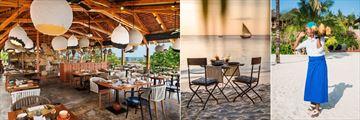 Zuri Zanzibar, Upendo Restaurant, Dining on the Beach and Drinks on the Beach
