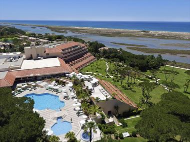Aerial view of Hotel Quinta do Lago