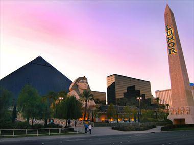 Exterior, Luxor Las Vegas