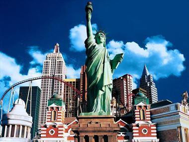 New York - New York, Las Vegas exterior