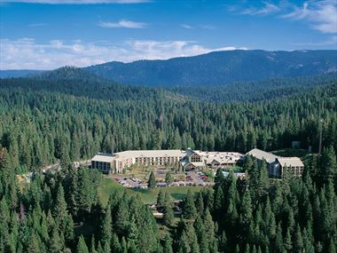 Aerial view, Tenaya Lodge