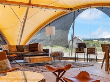 Under Canvas Yellowstone Glamping