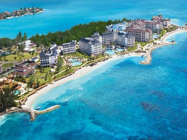 Aerial view of Secrets St James resort