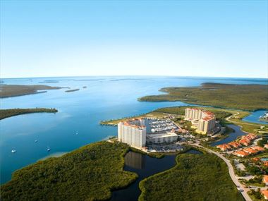 Aerial view of Westin Cape Coral