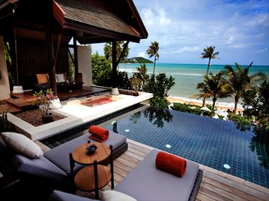 Anantara Lawana Resort & Spa Seaview Pool Villa exterior