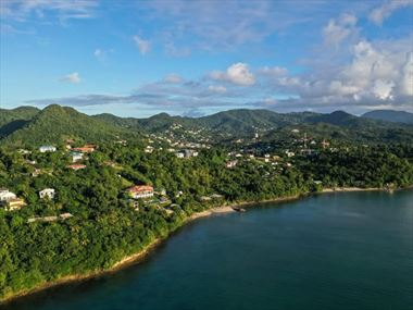 Aerial view of Calabash Cove Resort & Spa