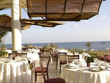 Pygmalion Restaurant at Constantinou Bros Athena Royal Beach
