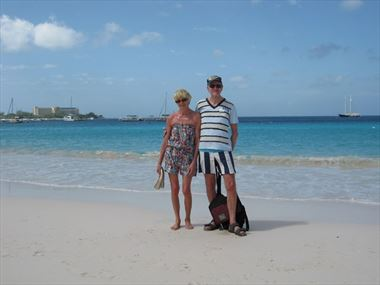 John & Lindsey share their Barbados holiday story