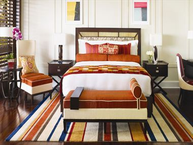 One&Only Ocean Club Beach Front Suite Bedroom