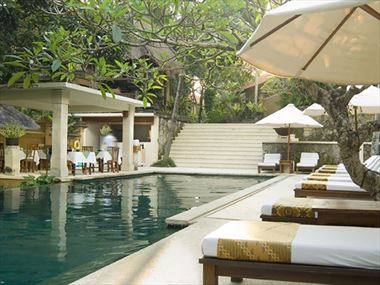 Pool at Komaneka Monkey Forest, Ubud