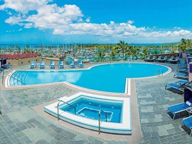 Pool at daytime, Prince Waikiki