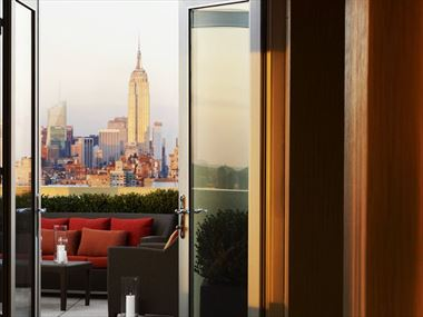 Club Lounge Terrace, Sheraton Tribeca
