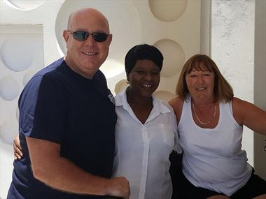 Colin & Joan's last-minute escape to Barbados