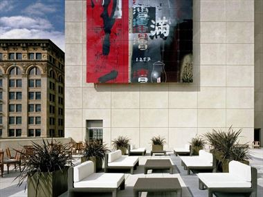 The St Regis San Francisco's Yerba Buena Outdoor Terrace