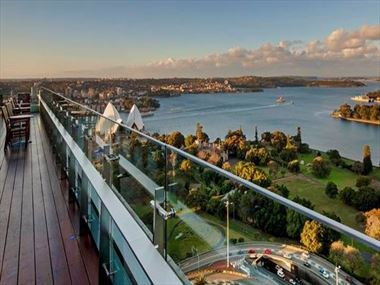 View from Club Intercontinental at Intercontinental Sydney