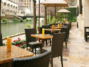 Zocca Restaurant along the Riverwalk
