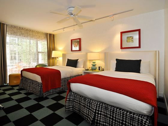 Double double guestroom