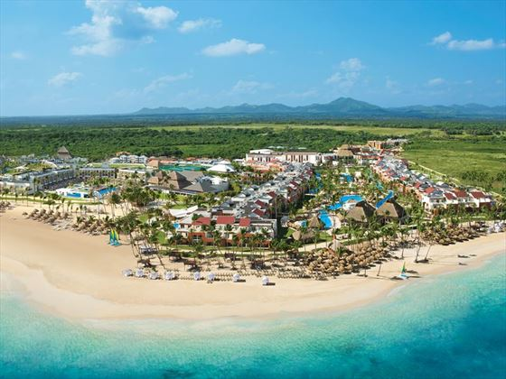 Aerial views of Breathless Punta Cana Resort & Spa