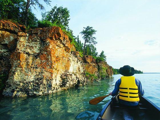 Canoeing, Manitoba