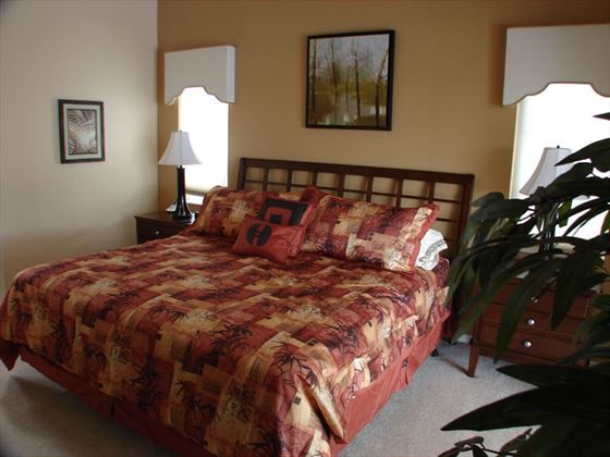 Example of a Cape Coral Area Home - Bedroom