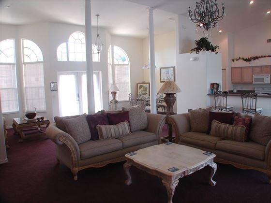 Example of a Cape Coral Area Home - Living Room