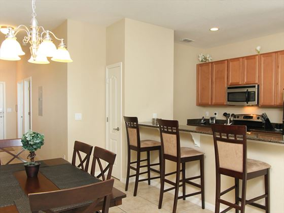 ChampionsGate Resort Townhomes kitchen