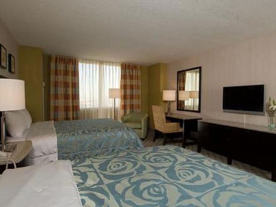 West Tower Standard Queen guestroom