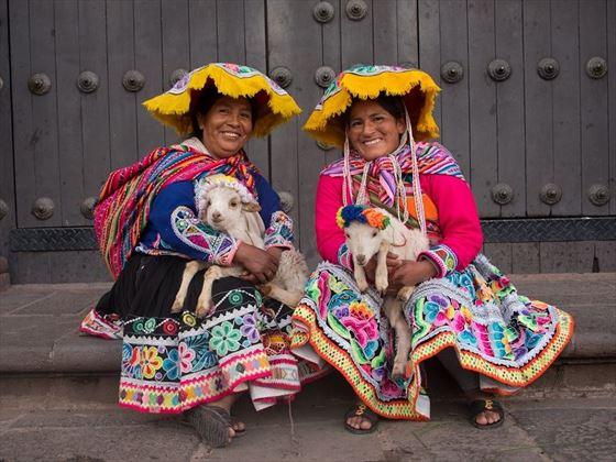 Cusco Peruvian locals