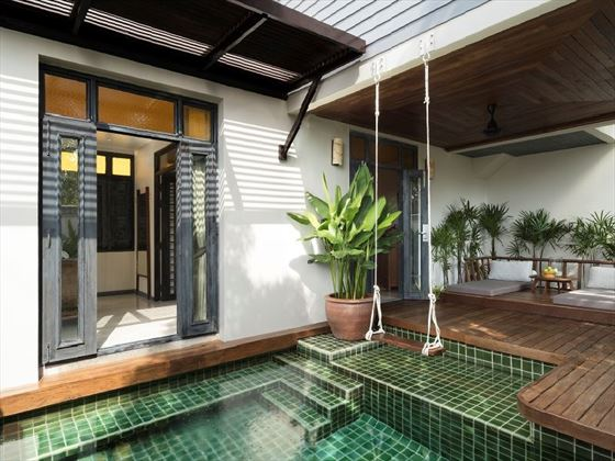 Deluxe Plunge Pool Room Terrace