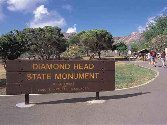 Diamond Head State Monument, Waikiki, Hawaii