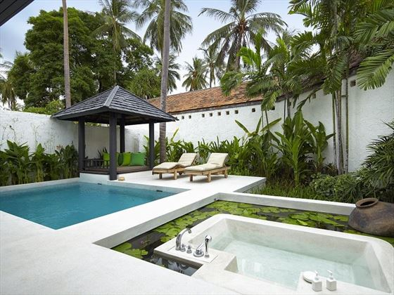 Evason Pool Villa Outdoor Area