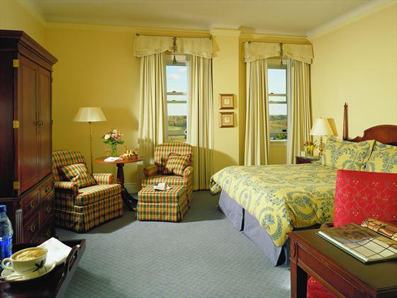 Fairmont view guestroom
