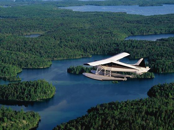 Float plane, Ontario