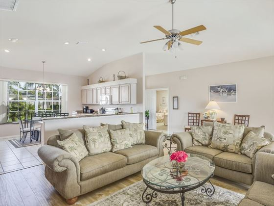 Example of a Fort Myers Area Home - Living area