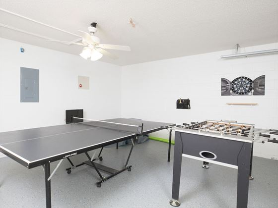 Example of a Glenbrook Home Games Room