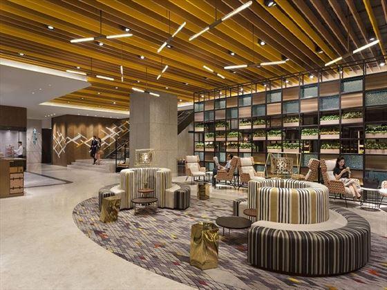 Main Lobby Hotel Jen
