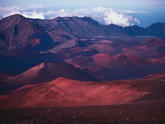 Haleakala Crater, Maui, Hawaii