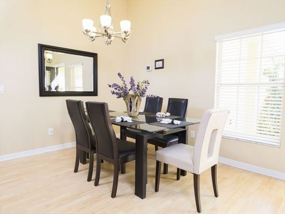 Example of Highlands Reserve Home - Dining Area