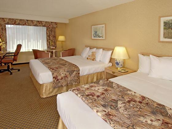 Standard two queen bed guestroom