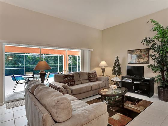 Example of a Marco Island Area Home - Living Room