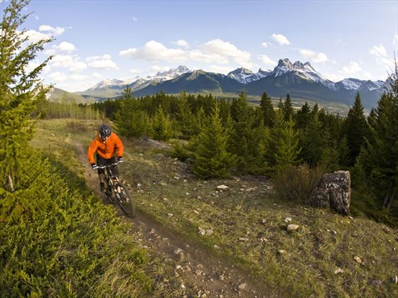Mountain biking, Canmore