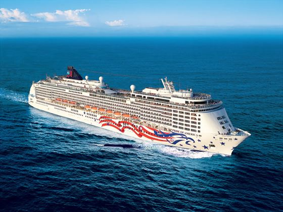 NCL Pride of America at sea