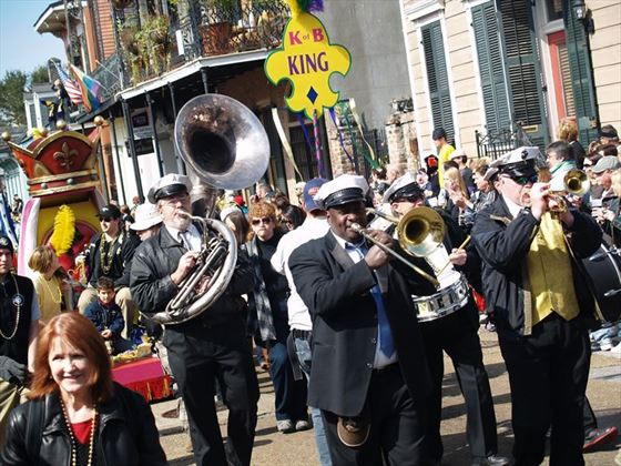 Mardi Gras Band New Orleans