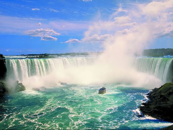 Niagara Falls, Maid of the Mist, Ontario, Canada