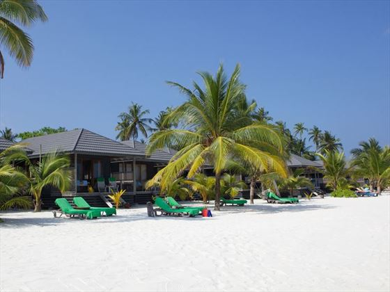 Kuredu O Beach Villa and beach