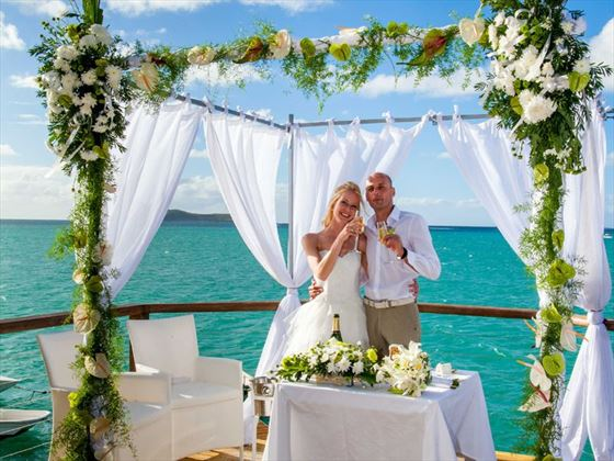 Beautiful ocean view weddings