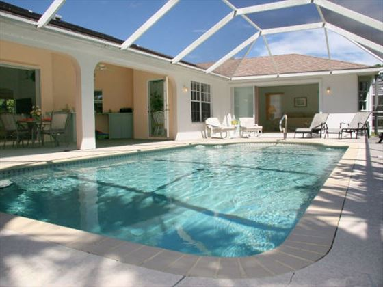 Example of a Port Charlotte Area Home - Private Pool