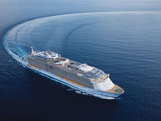 Royal Caribbean at sea