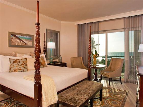 Balmoral Honeymoon Oceanview Club Level Room at Sandals Royal Bahamian Spa Resort