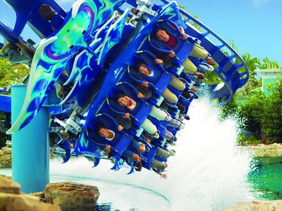 Manta ride at SeaWorld, Orlando